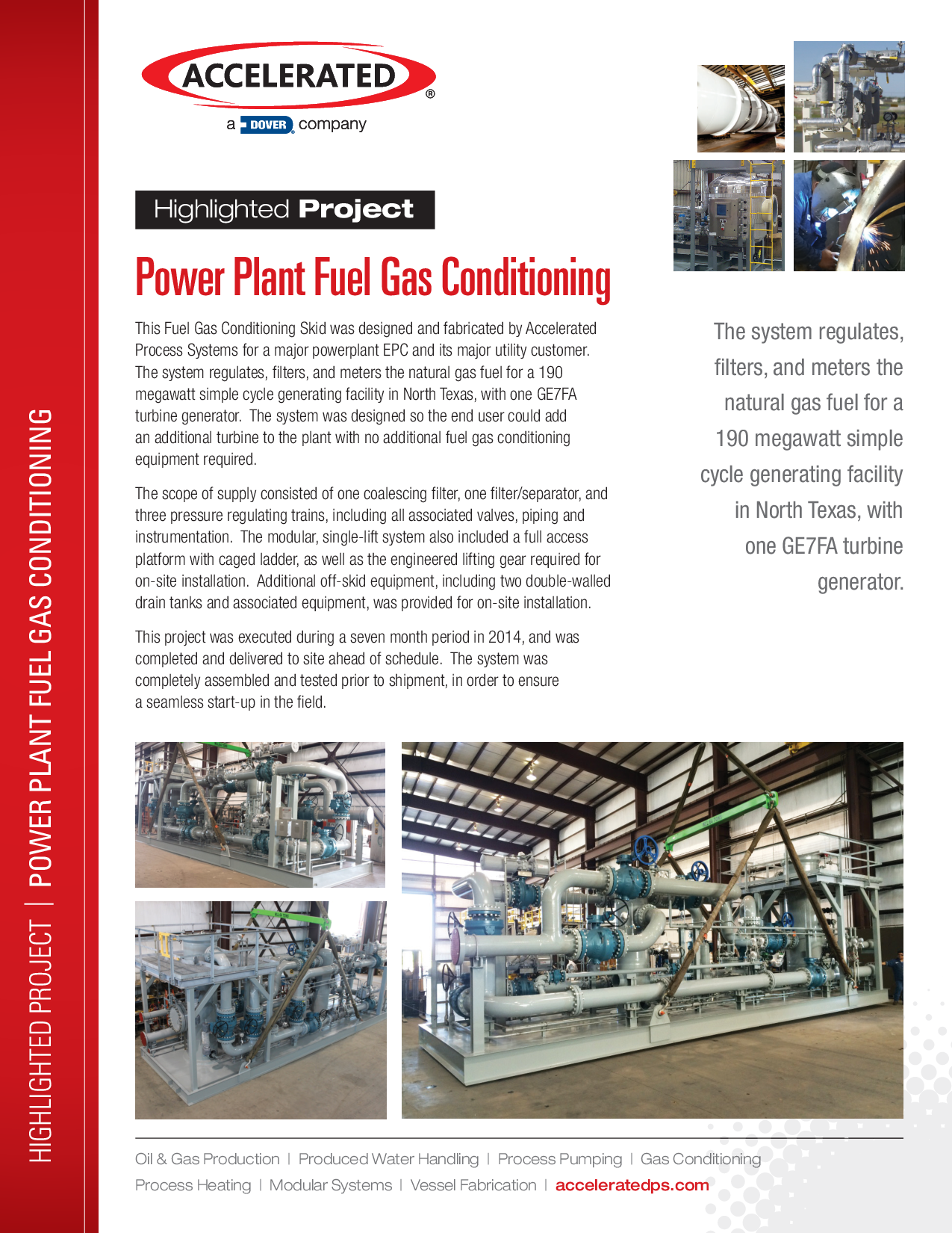 Power Plant Fuel Gas Conditioning