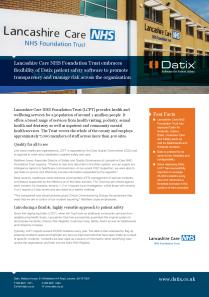 Hospitals & Hospital Systems Solution Set