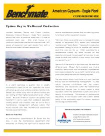 Gypsum Handling & Drywall Manufacturing Industry Solution Set