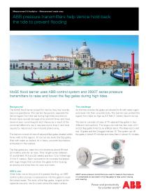 Pressure Measurement Applications & Technology Solution Set