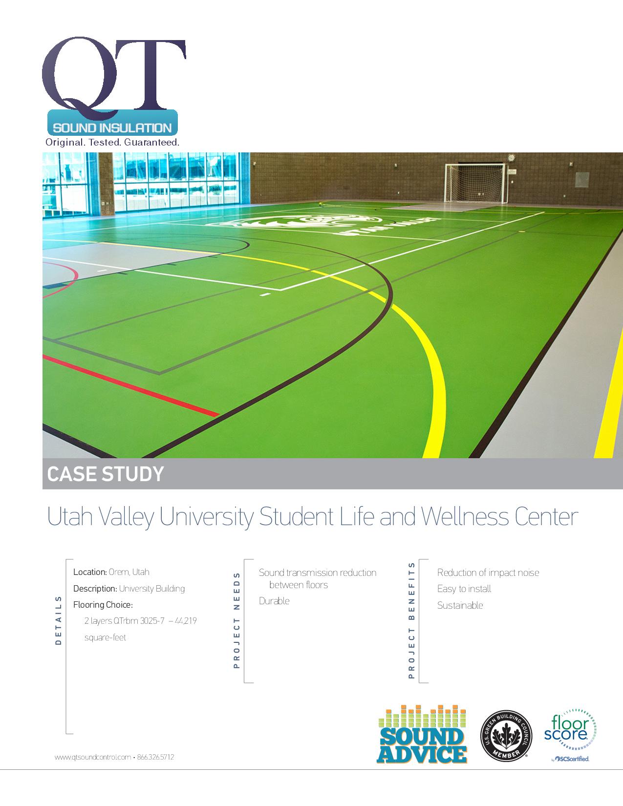 Utah Valley University Student Life and Wellness Center
