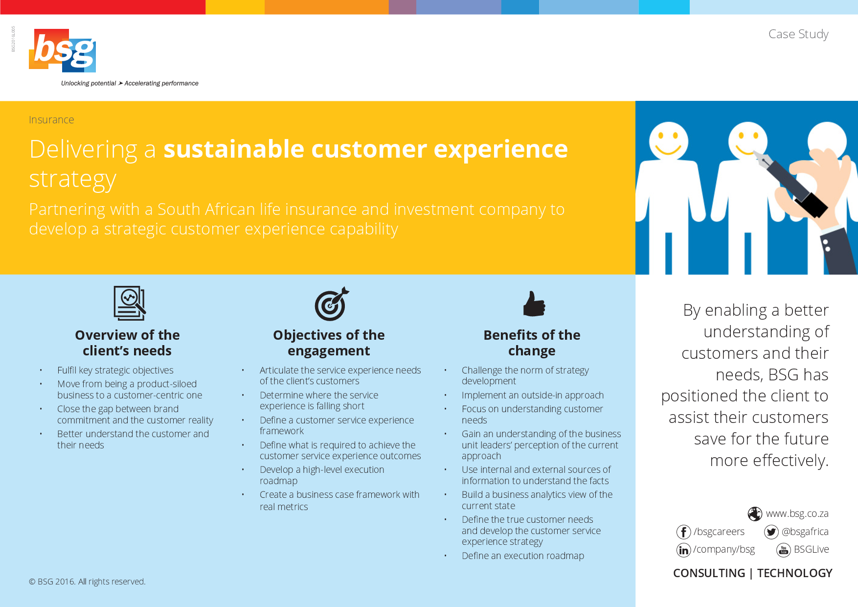 Delivering A Sustainable Customer Experience Strategy The