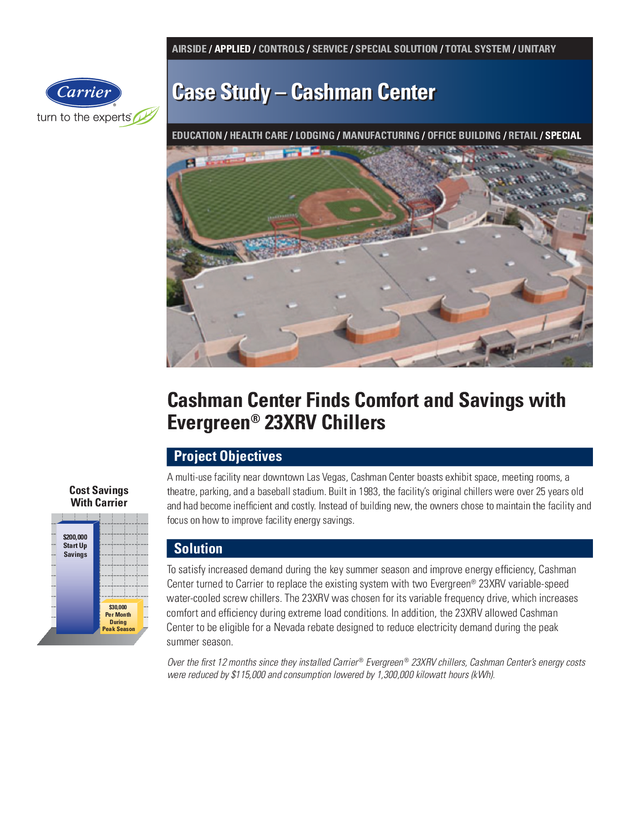 Cashman Center