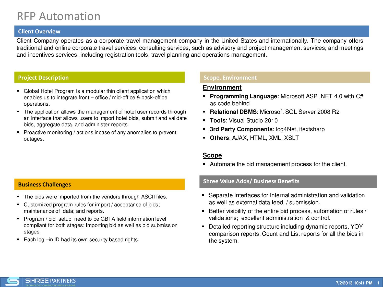 RFP Automation