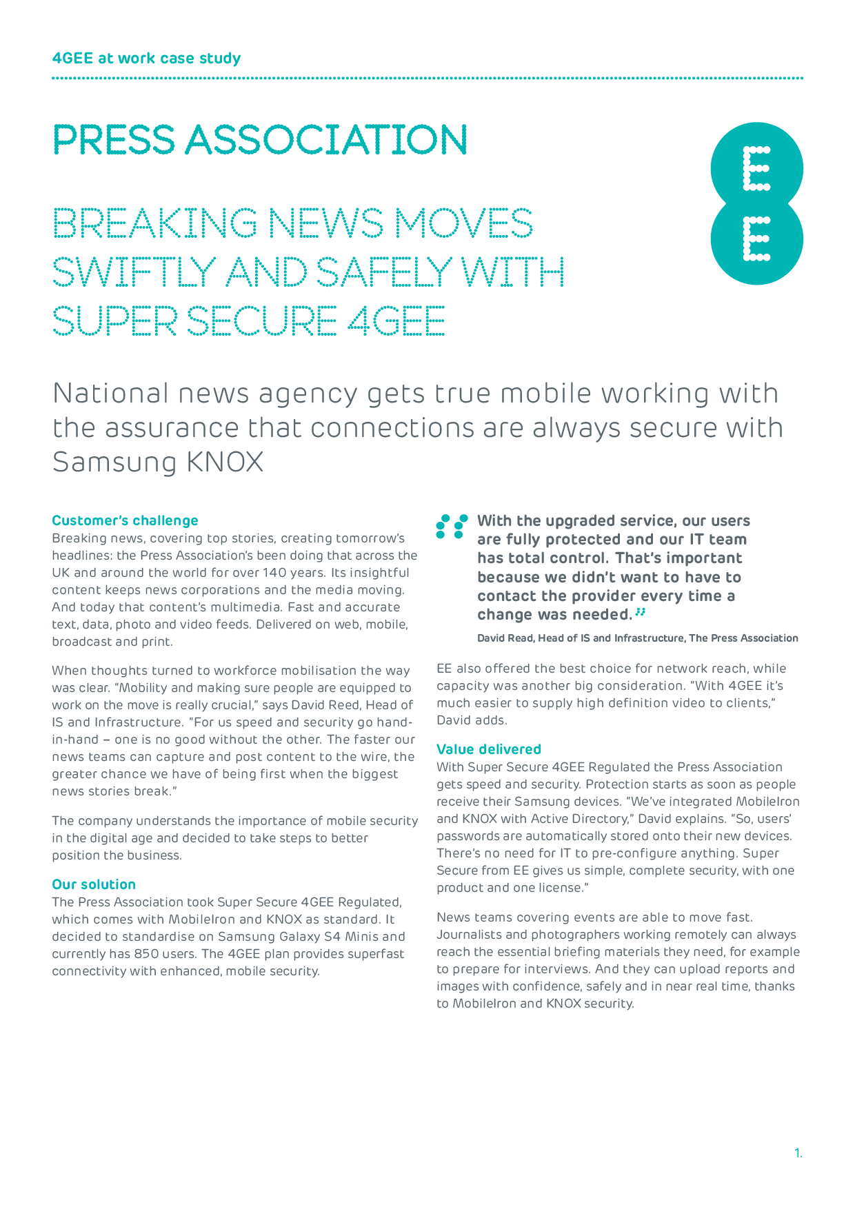Breaking News Moves Swiftly And Safely With Super Secure 4G