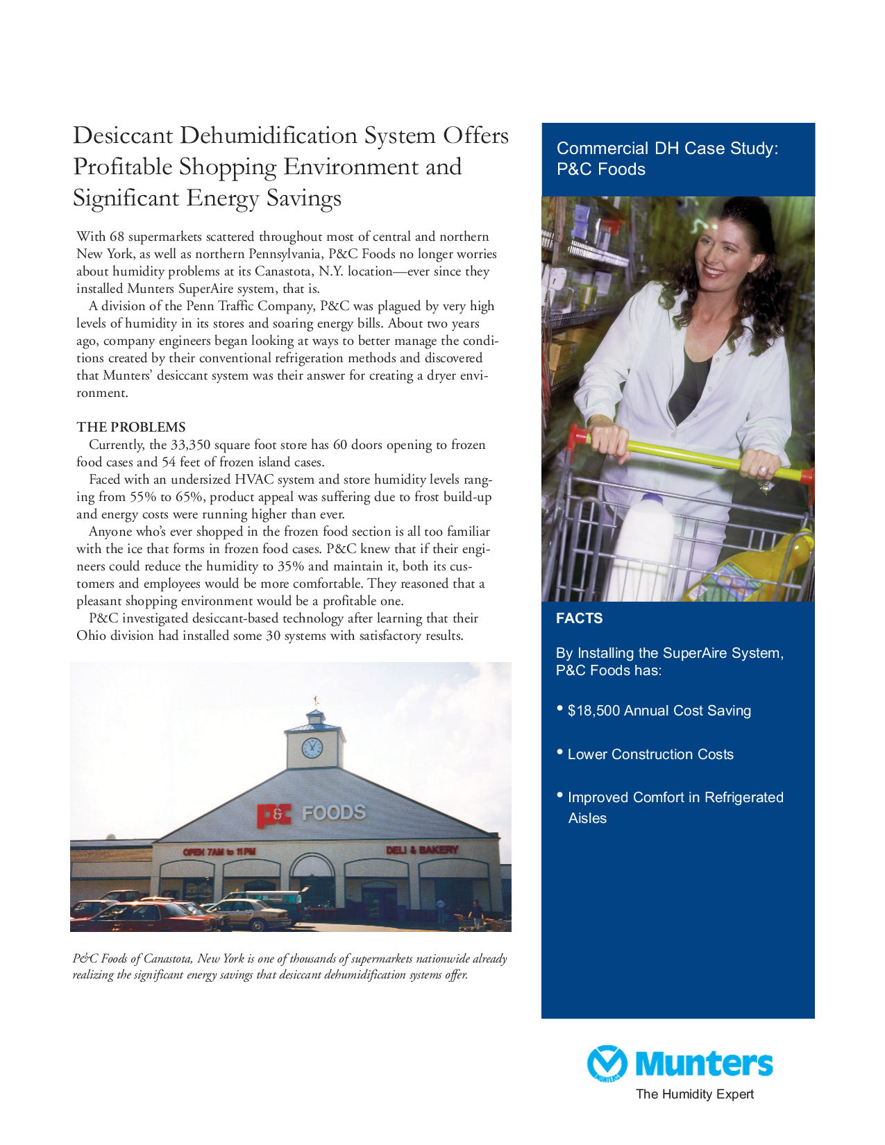 Desiccant Dehumidification System Offers Profitable Shopping Environment and Significant Energy Savings